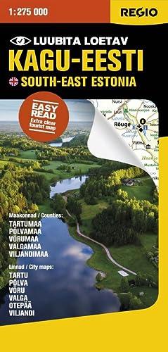 Regio kagu-eesti turismikaart 1:275 000