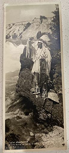 (PHOTOGRAPH) CHIEF KOOSTAHTAN ON THE BANKS OF THE FLATHEAD