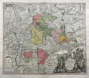 Episcopatus Hildesiensis cum adjacentibus provinciis ac statibus mappa geographica.: HILDESHEIM / ...