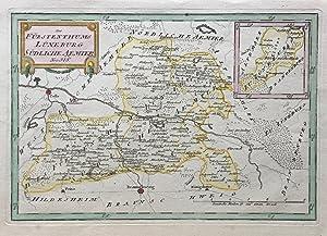 Des Fürstenthums Lüneburg südliche Ämter.: GIFHORN / KLÖTZE. Reilly, Franz ...