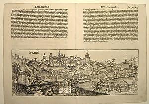 Prag (Gesamtansicht).: PRAG - Schedel, Hartmann: