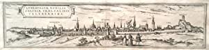 Luneburgum, nobilis Saxoniae urbs, salinis celeberrima.: LÜNEBURG, PANORAMA. Braun, Georg / ...