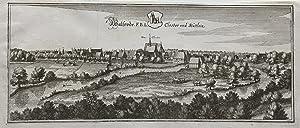 Walsrode F(ürstlich) B(raunschweig-) L(Lüneburgisches) Closter und Stättlein.: ...