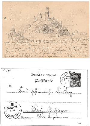 Gensungen (Felsberg).: FELSBERG bei GENSUNGEN/KASSEL. Duisberg, Carl (?) (Wuppertal-Barmen 1861-...
