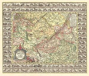 Das Stifft Naumburg und Zeitz nebst einen grossen Theil derer angraentzenden Länder. ...