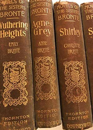 The novels of the Sisters Bronte. The: Bronte, Charlotte, Emily,