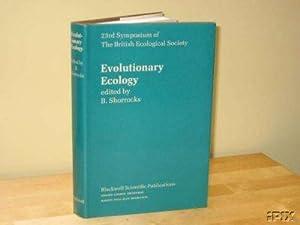 Evolutionary Ecology: Shorrocks, B. A. (editor)