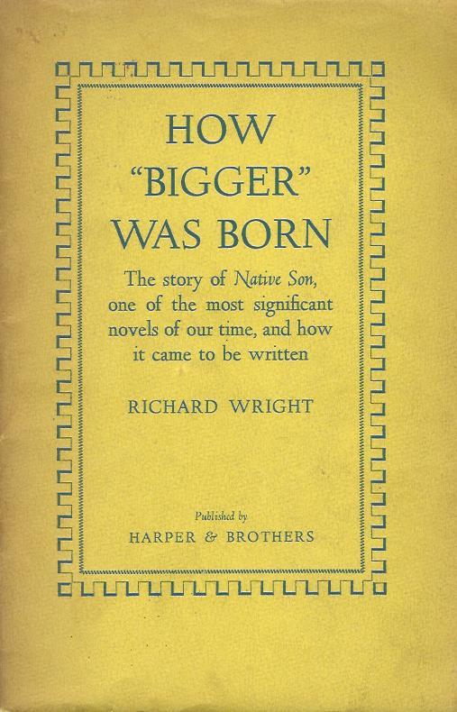 how character actions defined individuals in richard wrights novel native son Individuals with fraternal connections have repeatedly played roles of significance in line with the aspirations of that fraternity, locally, and nationally the australian fraternal story is huge, with massive implications for what we believe we already know about ourselves.