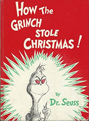 HOW THE GRINCH STOLE CHRISTMAS ** Signed: Dr. Seuss