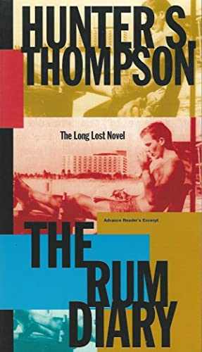 THE RUM DIARY ** Signed First Edition, Advance Reader's Excerpt **: Hunter S. Thompson
