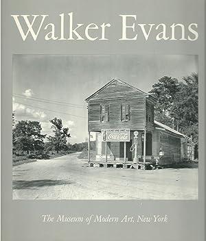 WALKER EVANS ** True First Edition, Signed: Walker Evans /