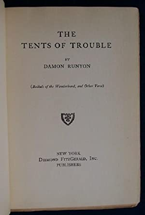 The Tents Of Trouble: Runyon, Damon