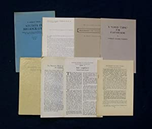 Collection of Books & Pamphlets: Pearson, Norman Holmes