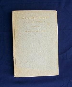 Windflowers. A Book of Lyrics: Stead. Willaim Force