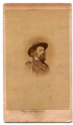 Carte De Visite CDV Portrait TENNYSON Alfred