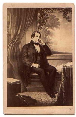Carte De Visite CDV Portrait IRVING Washington