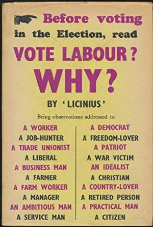 Vote Labour? Why?