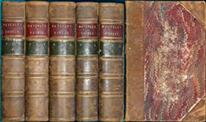 Novels of Sir Walter Scott with all his introductions and notes, The; (Complete in 5 Volumes): ...