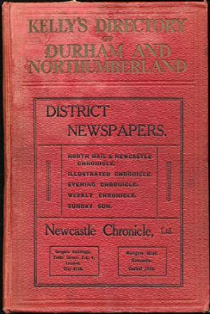 Kelly's Directory of Durham and Northumberland (with coloured maps). 1925. 14th edition.