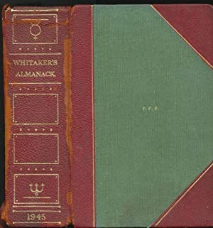 Whitaker's Almanack 1945: Whitaker, Joseph