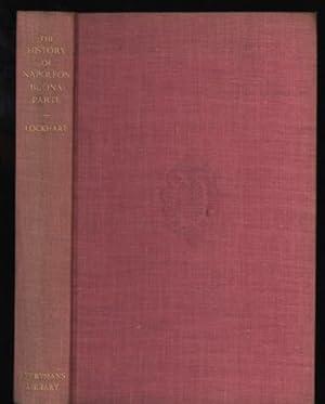 History of Napoleon Buonaparte, The: Lockhart, John Gibson