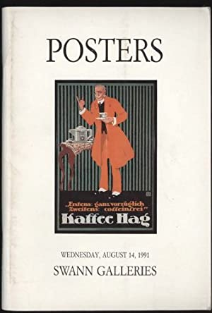 Posters: American-European-Japanese August 14, 1991-Public Auction Sale: 1566.
