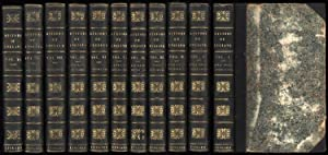 History of England from the First Invasion by the Romans, A (10 volumes - lacking vols 9 and 12-14)...