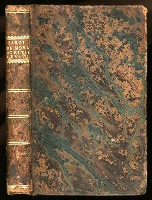 De Moribus ac Ritibus Gentium Libri III. Nunc Primum in Lucem Editi.: Ferrariensis, Alexandri Sardi
