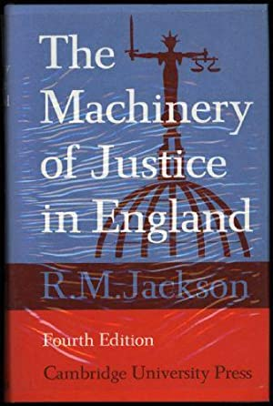 Machinery of Justic in England, The