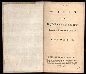 Works of Dr. Jonathan Swift, Dean of: Swift, Jonathan