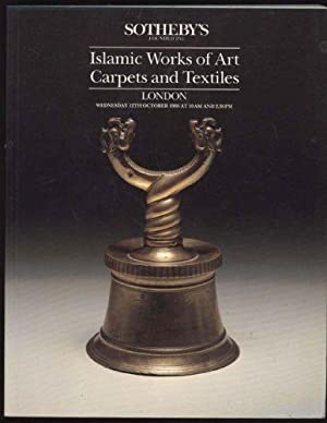 Islamic Works of Art, Carpets and Textiles: London, Wednesday, 12th October 1988