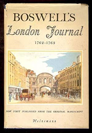 Boswell's London Journal 1762-1763. Now first published: Pottle, Frederick A.