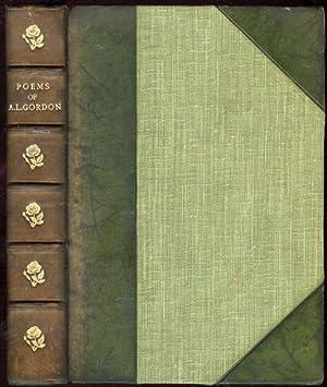 Poems of Adam Lindsay Gordon, The; Including: Gordon, Adam Lindsay