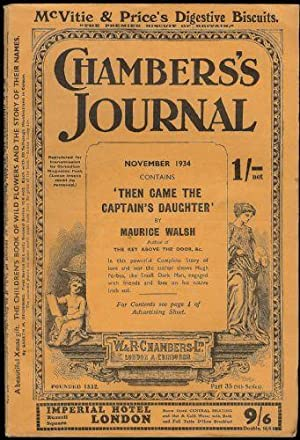 Chambers's Journal. 3 issues; March 1934 - Part 27 (8th Series), November 1934 - Part 35 (8th Ser...