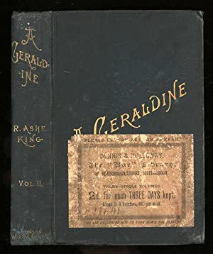 A Geraldine. Vol. II of 2 only