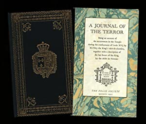 Journal of The Terror; being an account: Clery, M. and