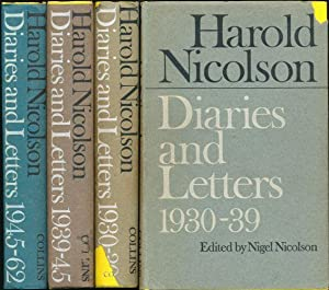 Diaries and Letters (complete in 3 volumes): Nicolson, Harold (edited by Nigel Nicolson)