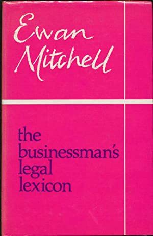 Businessman's Legal Lexicon, The