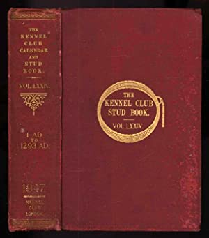 The Kennel Club Calendar & Stud Book: N/A