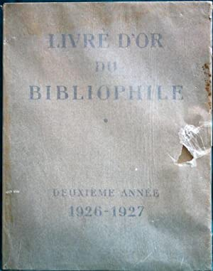 Livre D'Or du Bibliophile 1926-1927 and 1928-1929 (2 Volumes)