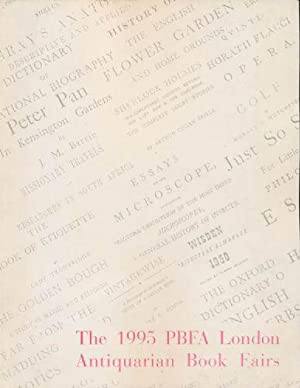 1995 PBFA London Antiquarian Book Fairs, The