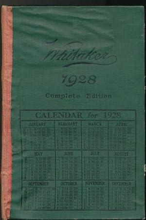 Whitaker's Almanack 1928 : Complete Edition: Whitaker, Joseph