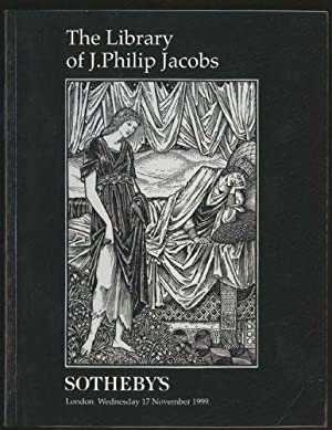 Library of J. Philip Jacobs, The - Sotheby's Auction Catalogue L09220 - London, Wednesday 17 Nove...