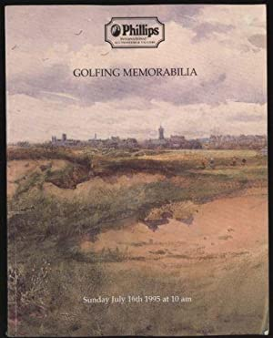 Golfing Memorabilia: Catalogue to an auction 16 July 1995 at 65 George St. Edinburgh .