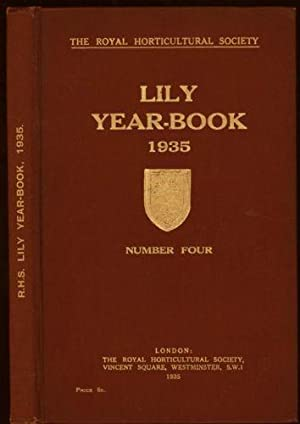 Lily Year Book 1935, The: Number Four: Chittenden, F.J (Editor)