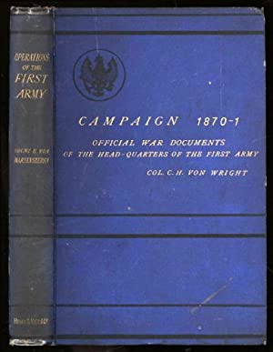 Campaign of 1870-1871, The; Operations of the: Wartensleben, Count Herrmann