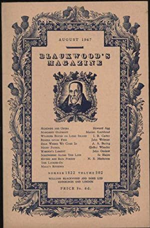 Blackwood's Magazine: August 1967, Number 1822 - Volume 302