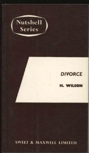 Divorce and matrimonial causes in a Nutshell