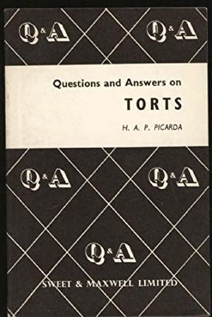 Questions and Answers on Torts