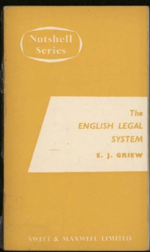 English legal system, The (Nutshell series)